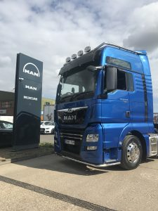 Commercial Motor discuss new MAN truck purchase